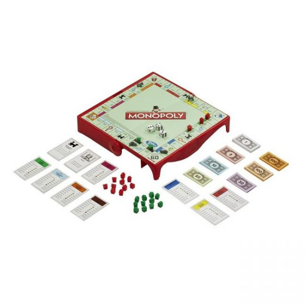 Monopoly Portátil Grab & Go