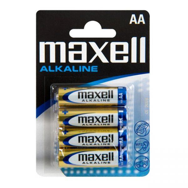 Pack 4 Pilhas AA Alcalinas