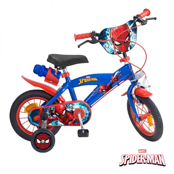 Bicicleta Spider-Man 12″