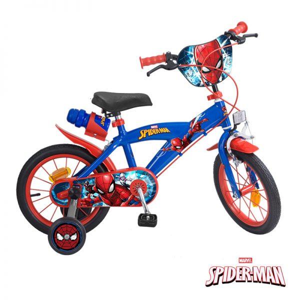 Bicicleta Spider-Man 14″