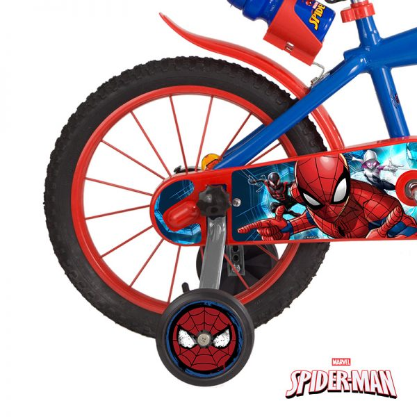 Bicicleta Spider-Man 16″