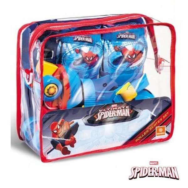 Patins e Proteções Spider-Man