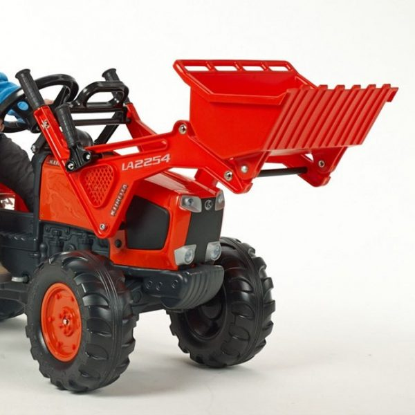 Trator Kubota M135GX + Reboque + Pás