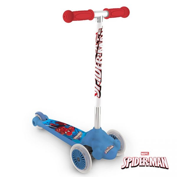 Trotinete Twist and Roll Spider-Man