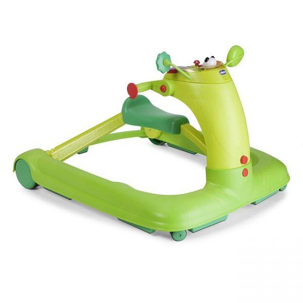 Centro Atividades e Andador Chicco 1 2 3 Green