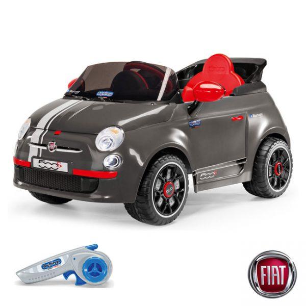 Carro Fiat 500 S 6V c/ Controlo Remoto