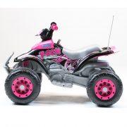 Quad Corral T-Rex Pink 12V