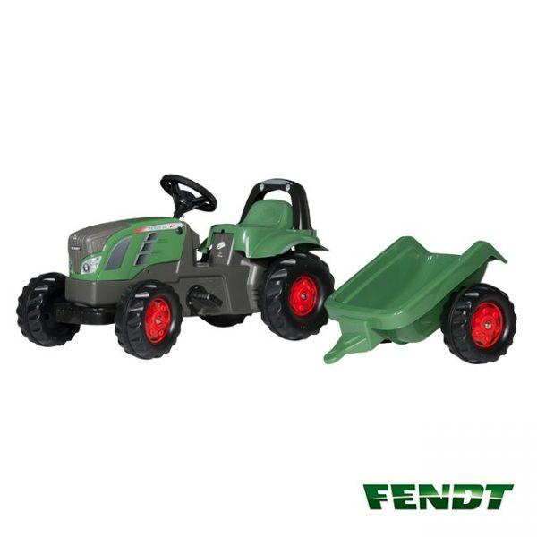 Tractor Fendt Vario 516 + Reboque
