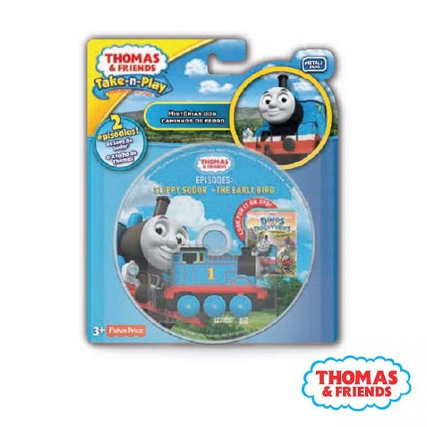 Thomas & Friends – DVD c/ 2 Episódios + Locomotiva