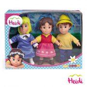 Heidi Figuras Heidi, Pedro e Clara 17cm
