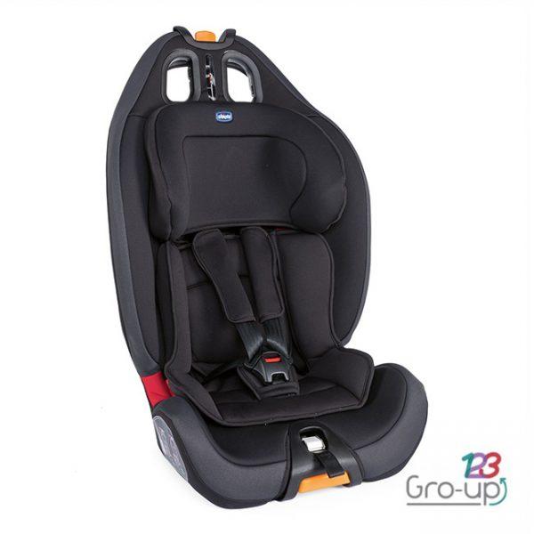 Cadeira Gro-Up 123 Jet Black