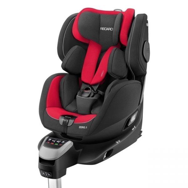 Cadeira Recaro Zero. 1 i-Size 360º Racing Red