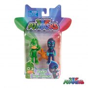 PJ Masks Pack 2 Figuras Gekko e Night Ninja