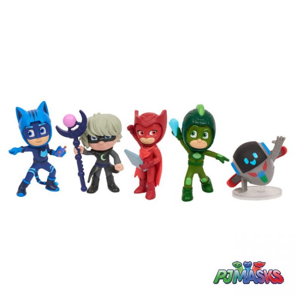 PJ Masks Pack 5 Figuras Super Moon