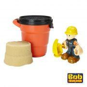 Bob, O Construtor Figura Bob e Areia de Moldar