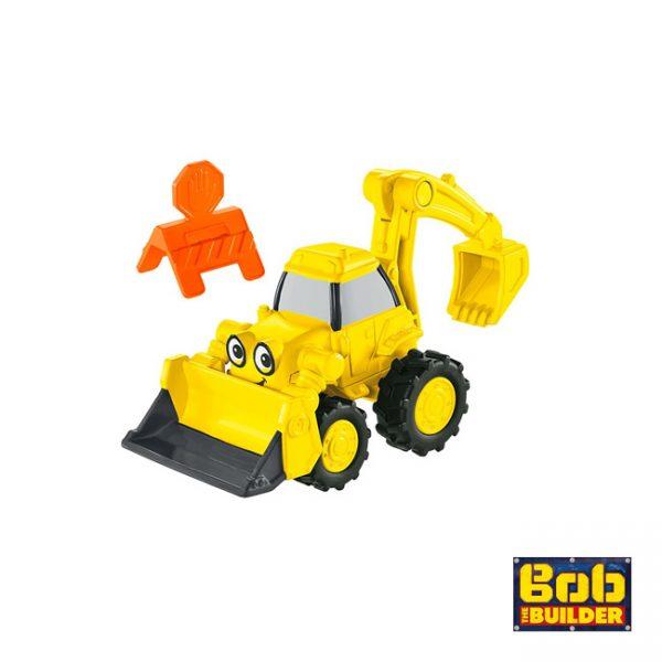 Bob, O Construtor Veículo Metal Escavão
