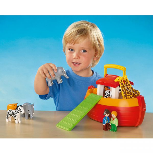 Playmobil 1.2.3 Mala Arca de Noé