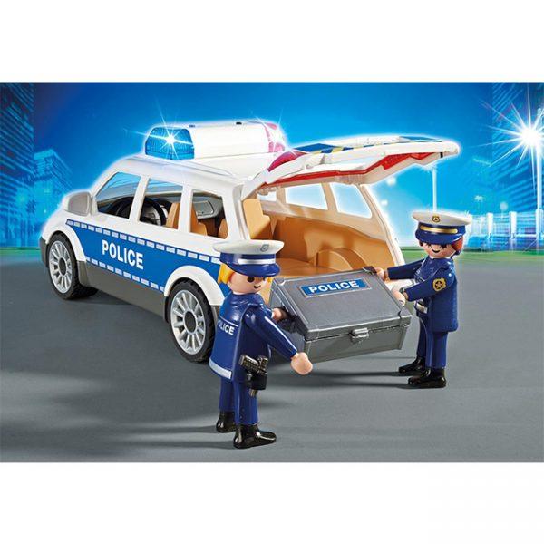 Playmobil Carro da Polícia com Luzes e Som