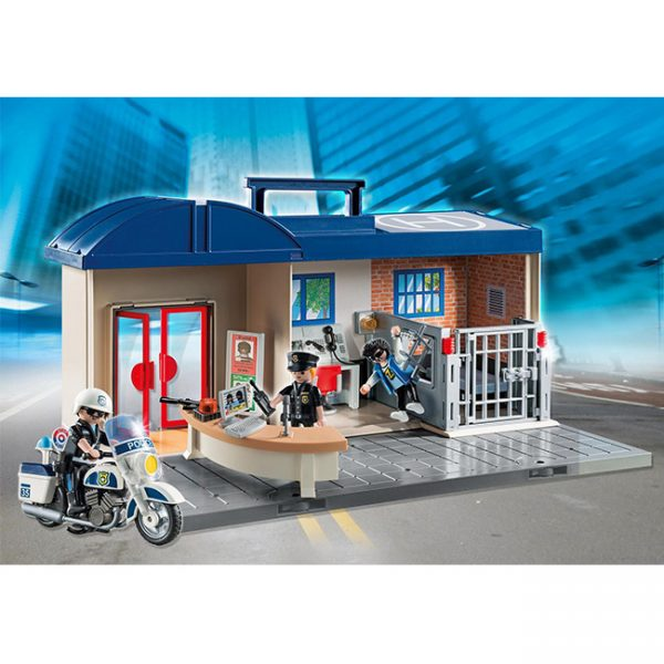 Playmobil Esquadra de Polícia Maleta