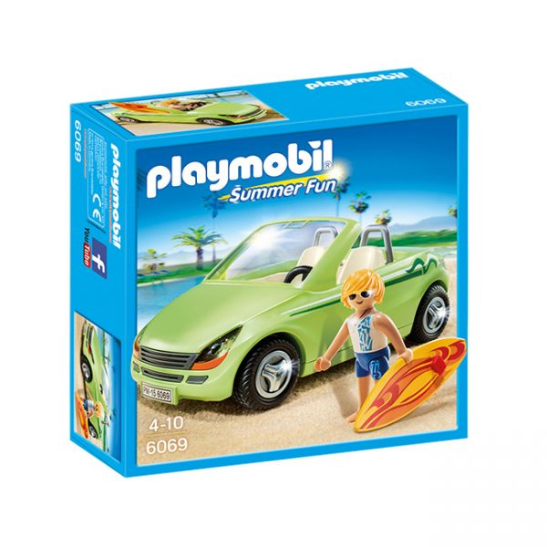 Playmobil Surfista com Descapotável