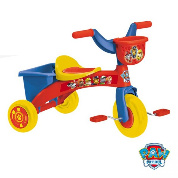 Triciclo Patrulha Pata