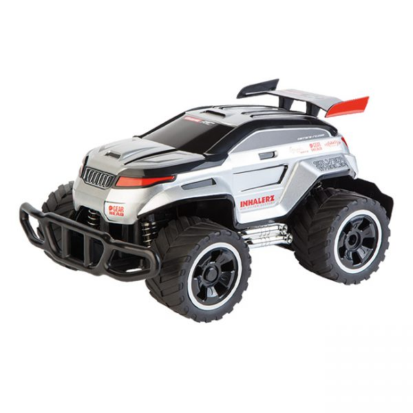 Carro RC Silver Wheeler