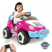 Carro Racing Patrulha Pata Girl 6V c/ Controlo Remoto