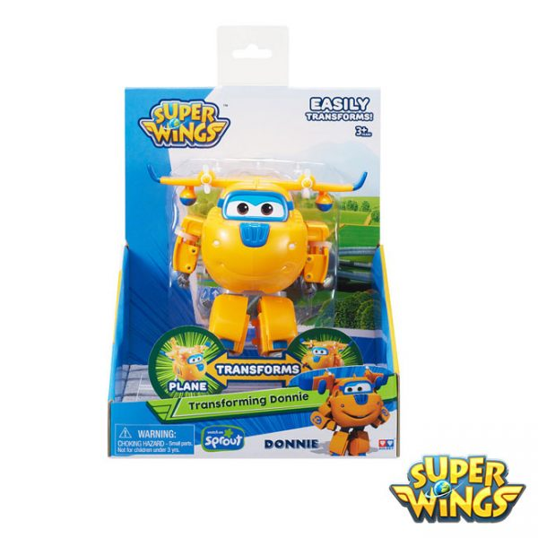 Super Wings – Transformável Donnie
