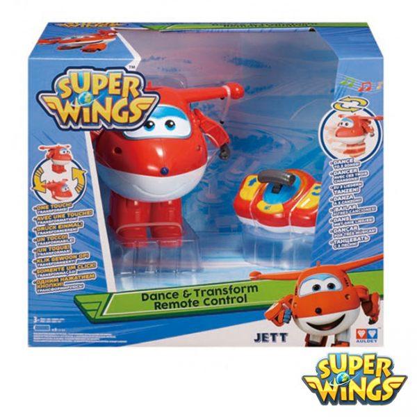 Super Wings – Jett Transformável c/ Controlo Remoto