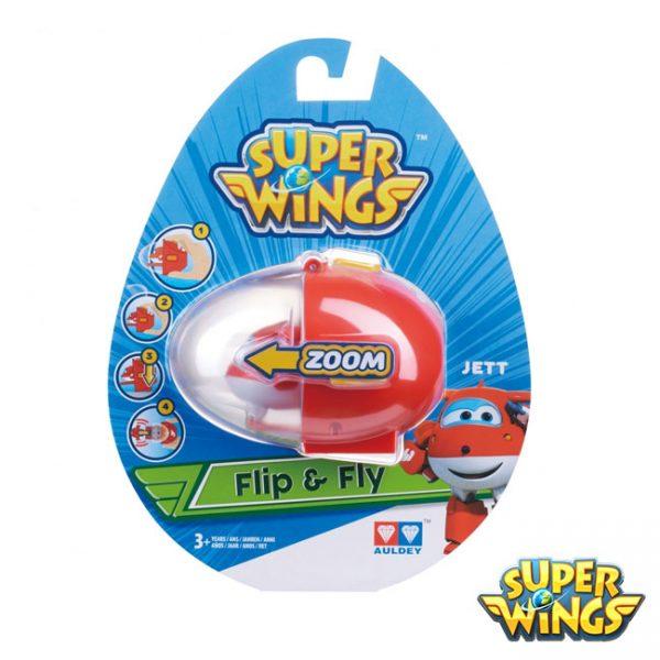 Super Wings – Ovo Lançador Jett