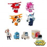 Super Wings – Pack 4+4 Figuras Transformáveis