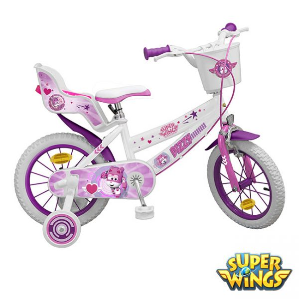 Bicicleta Super Wings Dizzy 14″