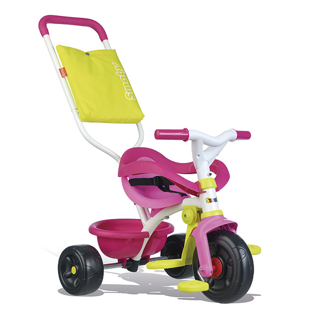 Smoby - Triciclo Be Fun Confort Rosa