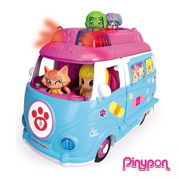 Pinypon Ambulância de Mascotes