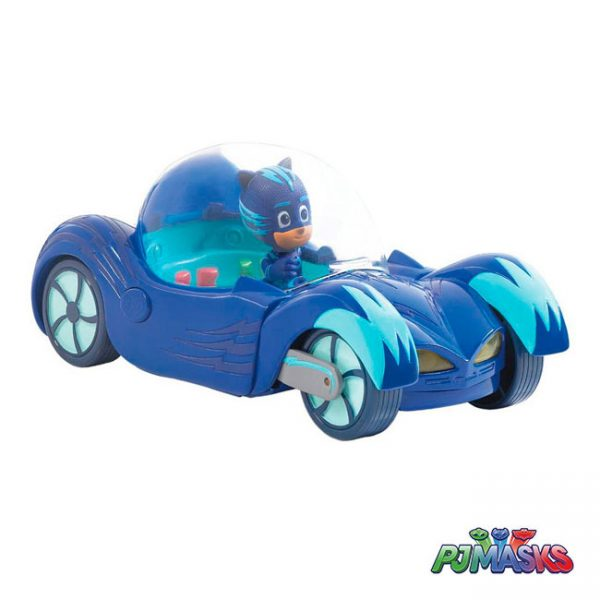 PJ Masks Veículo Deluxe Cat-Car – Catboy
