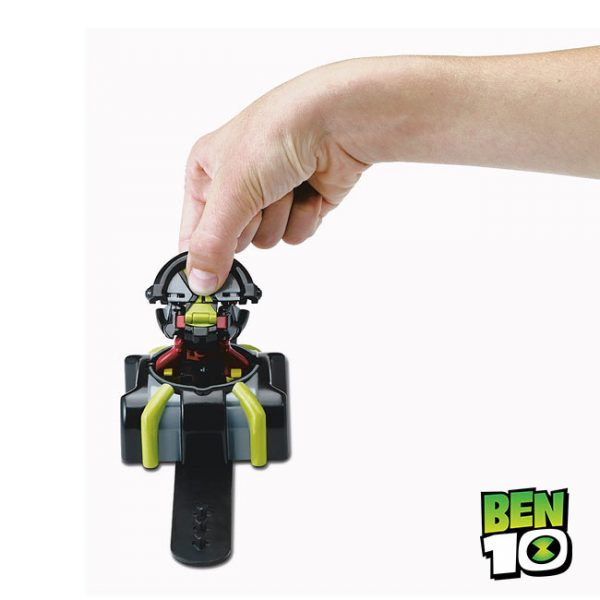 Ben 10 – Relógio Omni-Launch Heatblast e XLR8