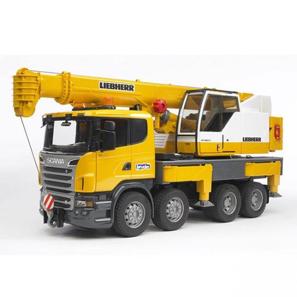 Camião Scania R Liebherr c/ Grua