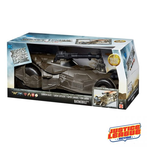 Justice League Batmobile com Canhão