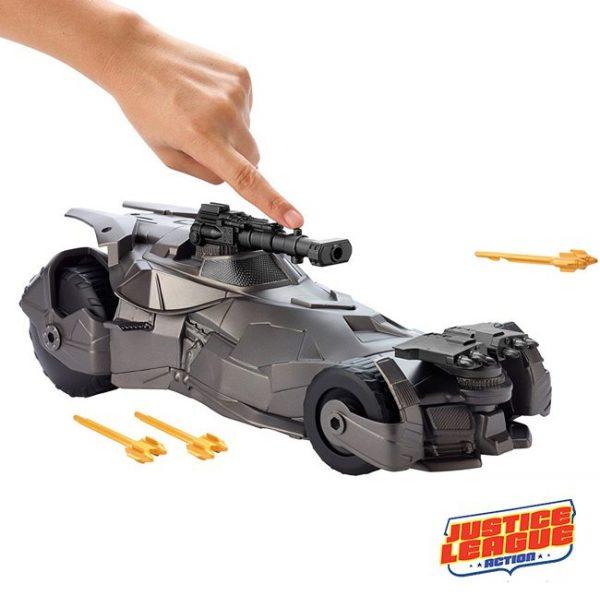 Justice League Batmobile com Canhão
