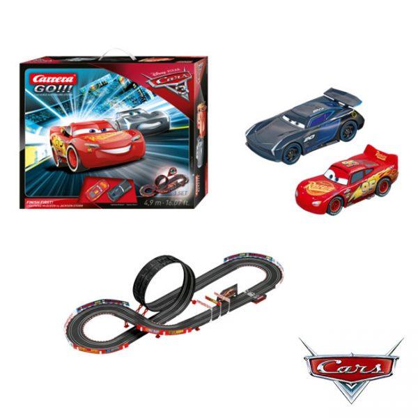 Pista Carrera GO!!! Cars 3 – Finish First!