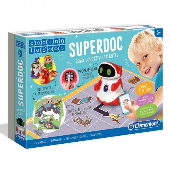 Super DOC Robô Educativo Falante