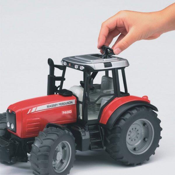 Tractor Massey Ferguson 7480 c/ Reboque