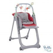 Cadeira de Papa Polly Magic Relax Dove Grey