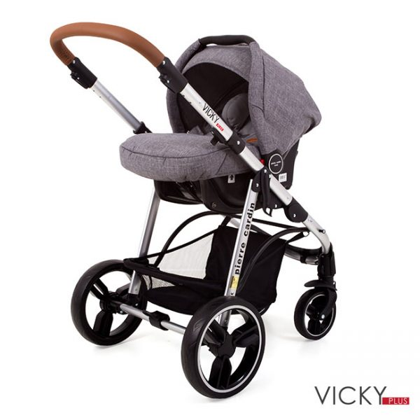 Duo Vicky Plus Charcoal Silver Tube