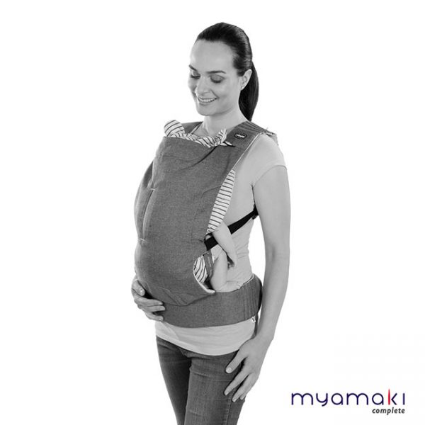 Marsúpio Myamaki Complete Denim Beige