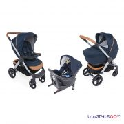 Trio Style Go Up Crossover i-Size Iconic Blue