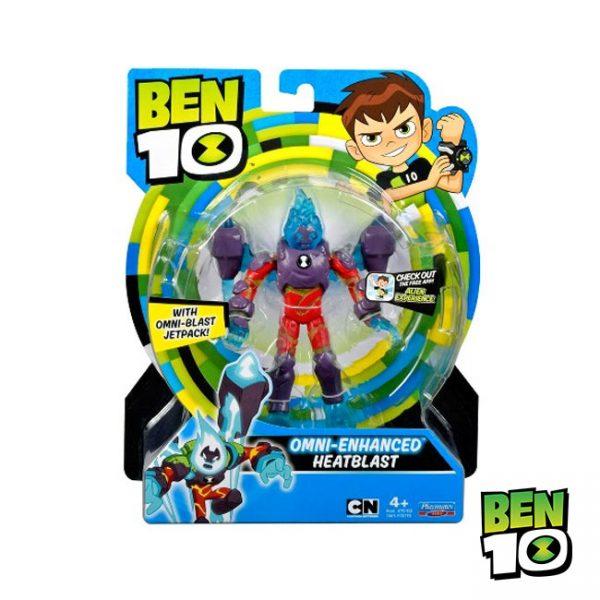 Ben 10 – Figura Básica Omni-Enhanced Heatblast