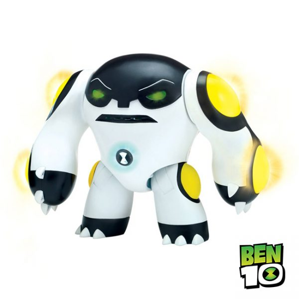 Ben 10 – Figura Power Up Luz e Sons Cannonbolt