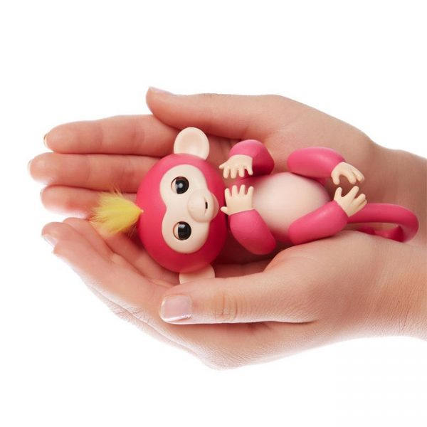 Fingerlings – Macaco Interativo Bella (rosa)