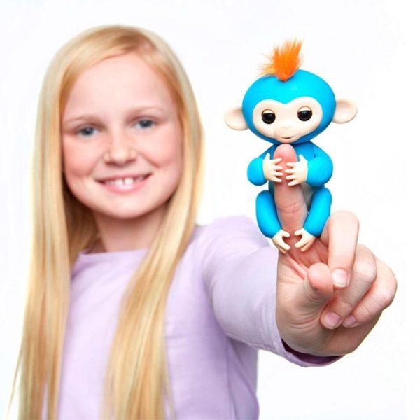 Fingerlings – Macaco Interativo Boris (azul)